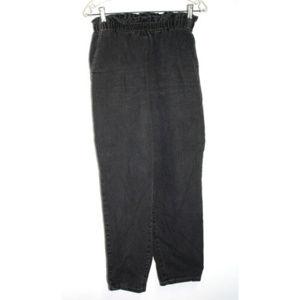 Vintage Zena Womens Size 12 Mom Jeans Ruffle Waist